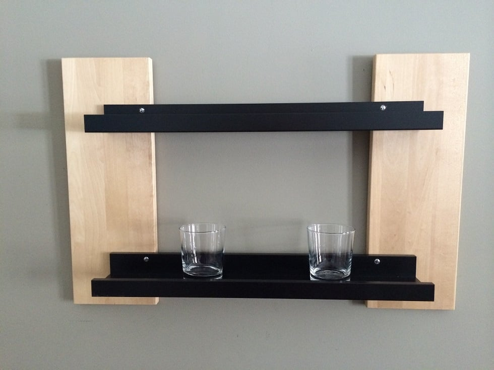 Ribba Shelf Upgrade IKEA Hackers IKEA Hackers