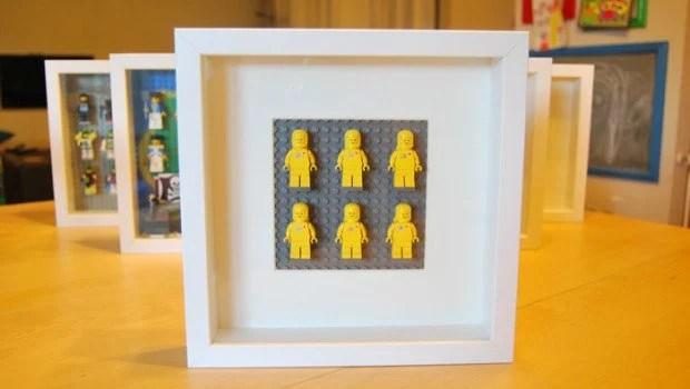 Easy DIY Lego minifigurine display case with RIBBA  IKEA