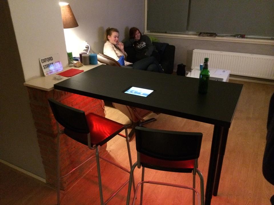 Linnmon Bar With Ipad Mini Inset Ikea Hackers