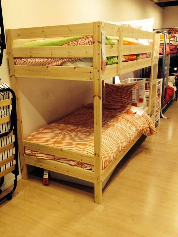 IKEA Hack Mydal Bunk Bed