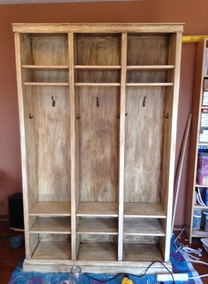 Freestanding Billy lockers  IKEA Hackers