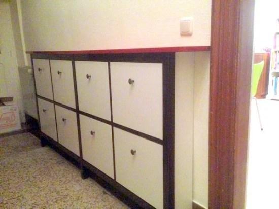 twin hemnes shoe cabinet hack