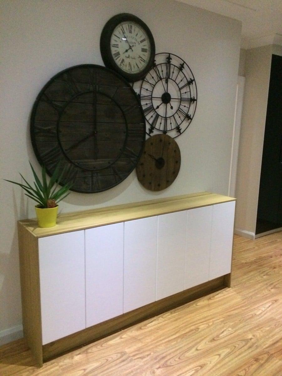 FAKTUM wall cabinets to buffetsideboard  IKEA Hackers