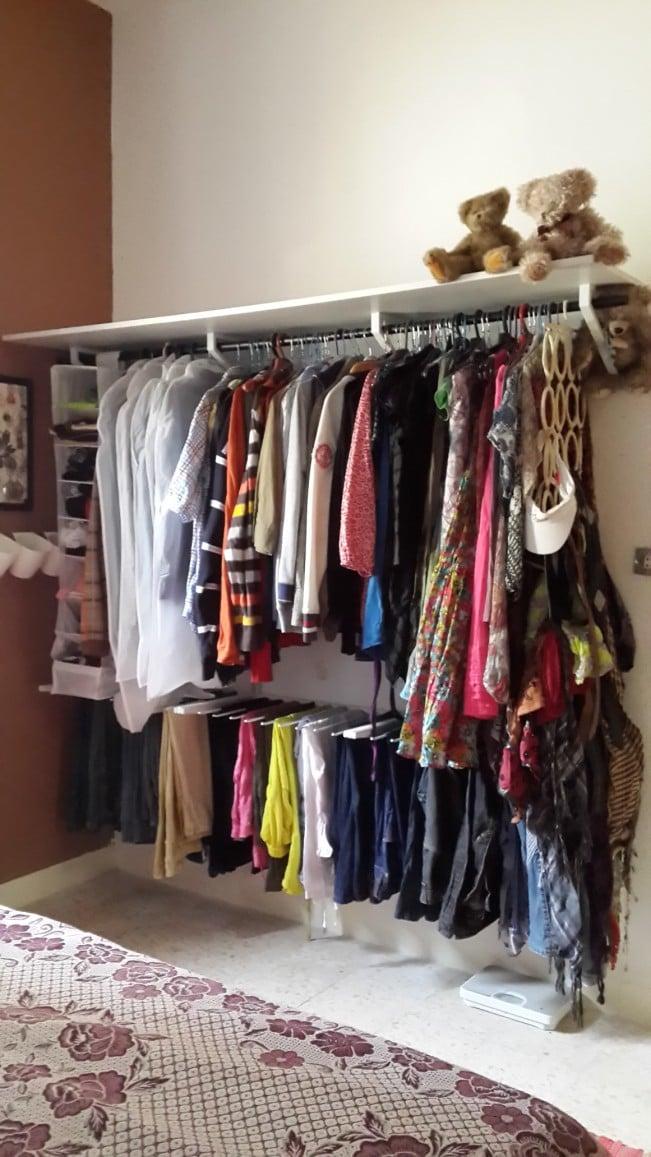 ALGOT  friends wardrobe system  IKEA Hackers