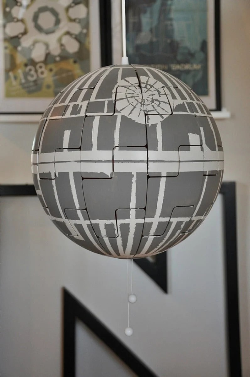 Ikea Ps Lamp Goes Exploding Death Star