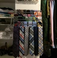 Lamplig trivet into tie rack - IKEA Hackers