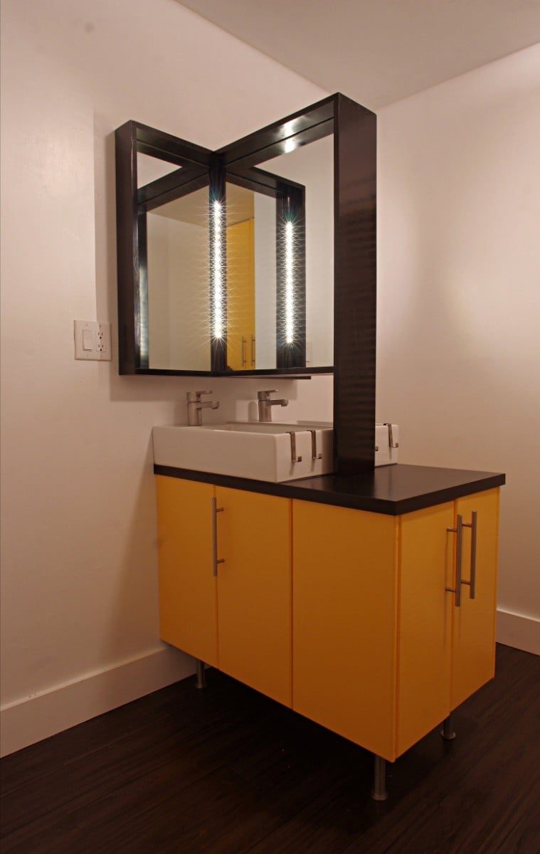 BacktoBack Lillangens with double sink  IKEA Hackers