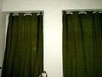 Hanging Curtains without Drilling with ORE Shower Curtain ...