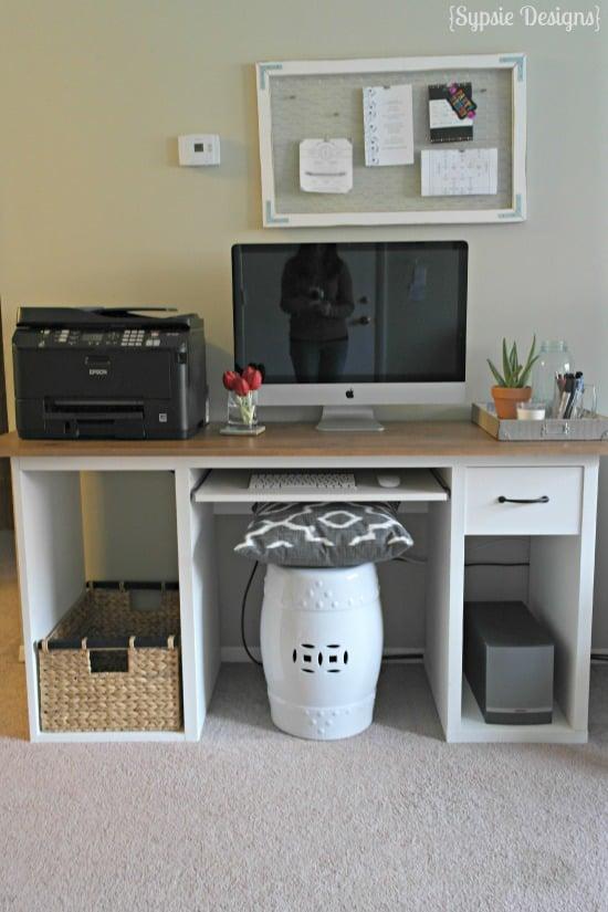 Rustic Desk Upgrade  IKEA Hackers