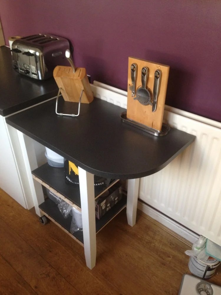 BEKVAM Trolley As Extended Kitchen Counter Space IKEA