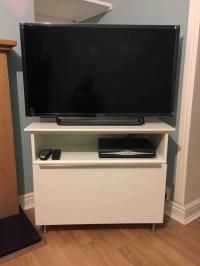 TV stand from METOD cabinet - IKEA Hackers - IKEA Hackers
