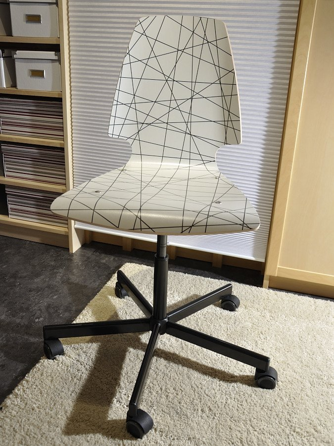 vilmar chair instructions ergonomic office seating archives ikea hackers rolling from dining to swivel