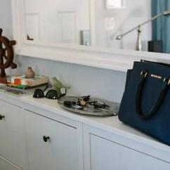 Kitchen Tile Floor Ideas Eat In Table Double Hemnes Shoe Cabinet - Ikea Hackers