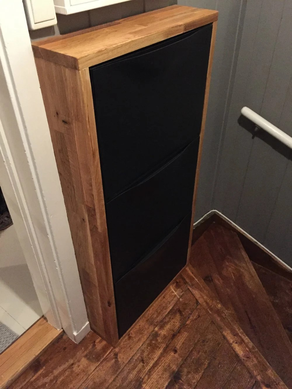 ikea kitchen rack transformations oak on trones shoe boxes - hackers