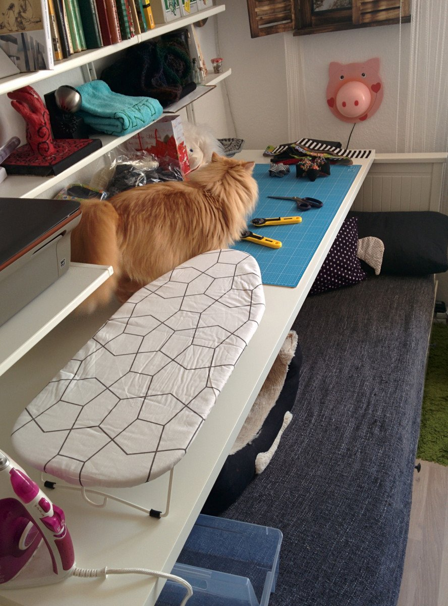 Temporary Sewing Table Solution Ikea Hackers