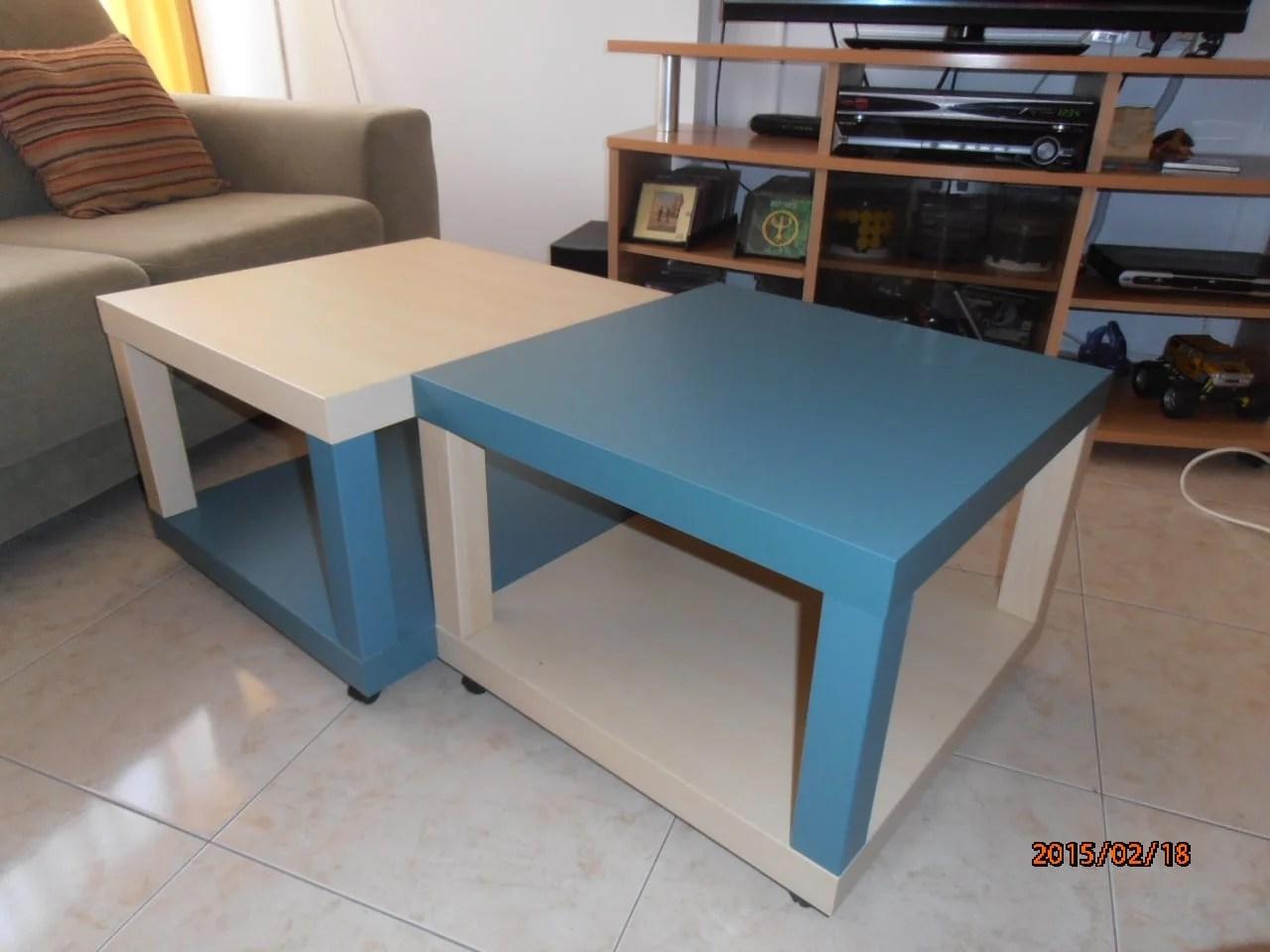 Quad LACK coffee table