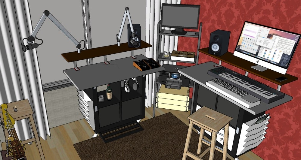 Hackers Help Need advice on sittingstanding home audio