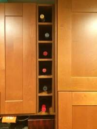 Wine rack from AKURUM sideboard