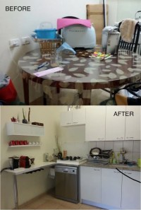 Before and After: IKEA Kitchen upgrade