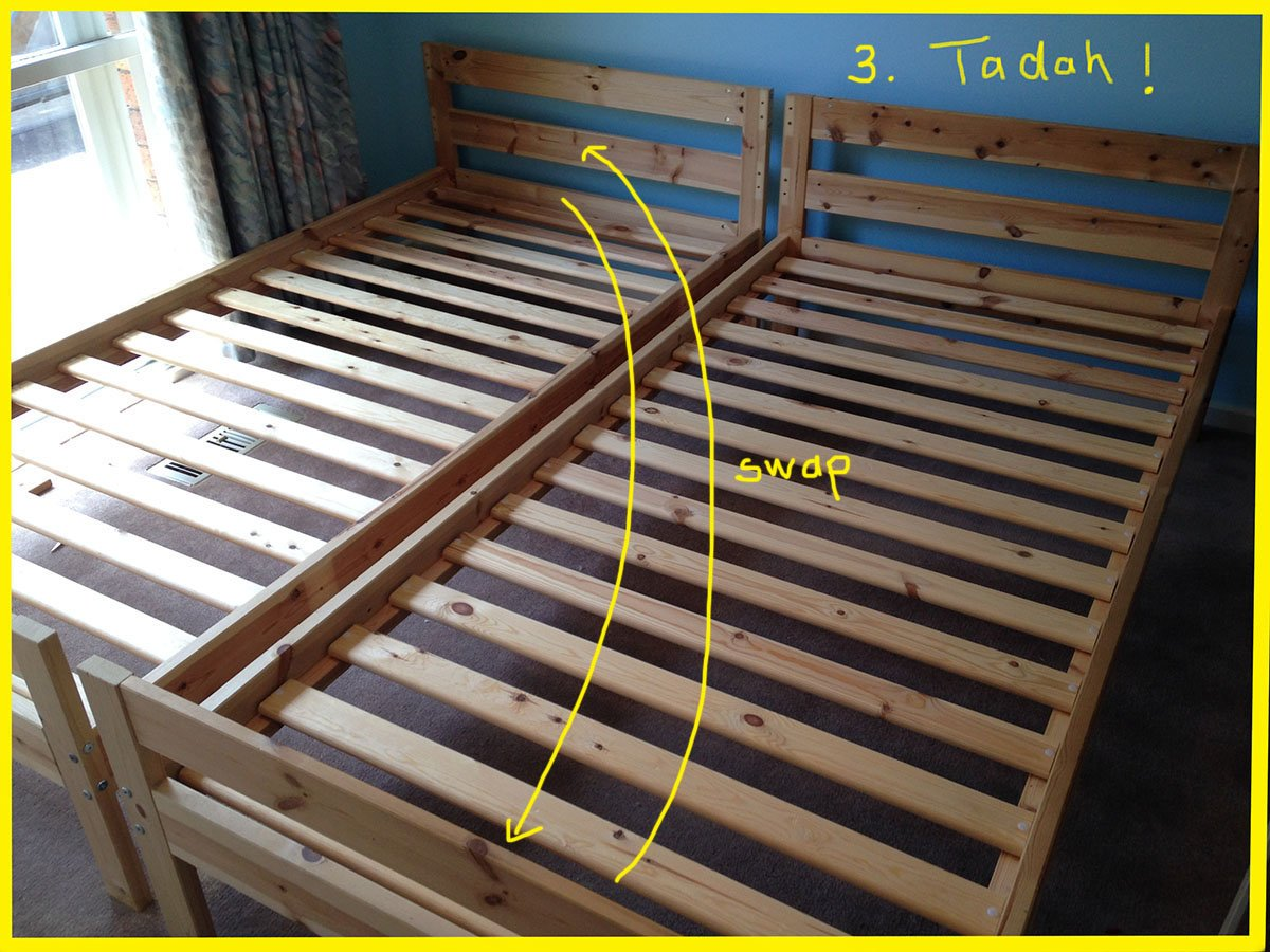 Mydal Bunk Bed To Single Beds Ikea Hackers