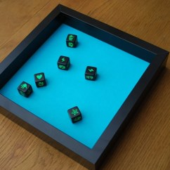 Seating Ideas For Small Living Room Gray And Gold Board Gaming Dice Tray Using Ribba Frame - Ikea Hackers ...