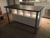 Cheap, Stylish IKEA designed Kitchen Island Bench for ...