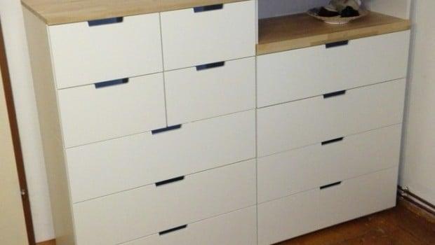 ikea kitchen table with drawers cabinet layouts nordli birch top - hackers