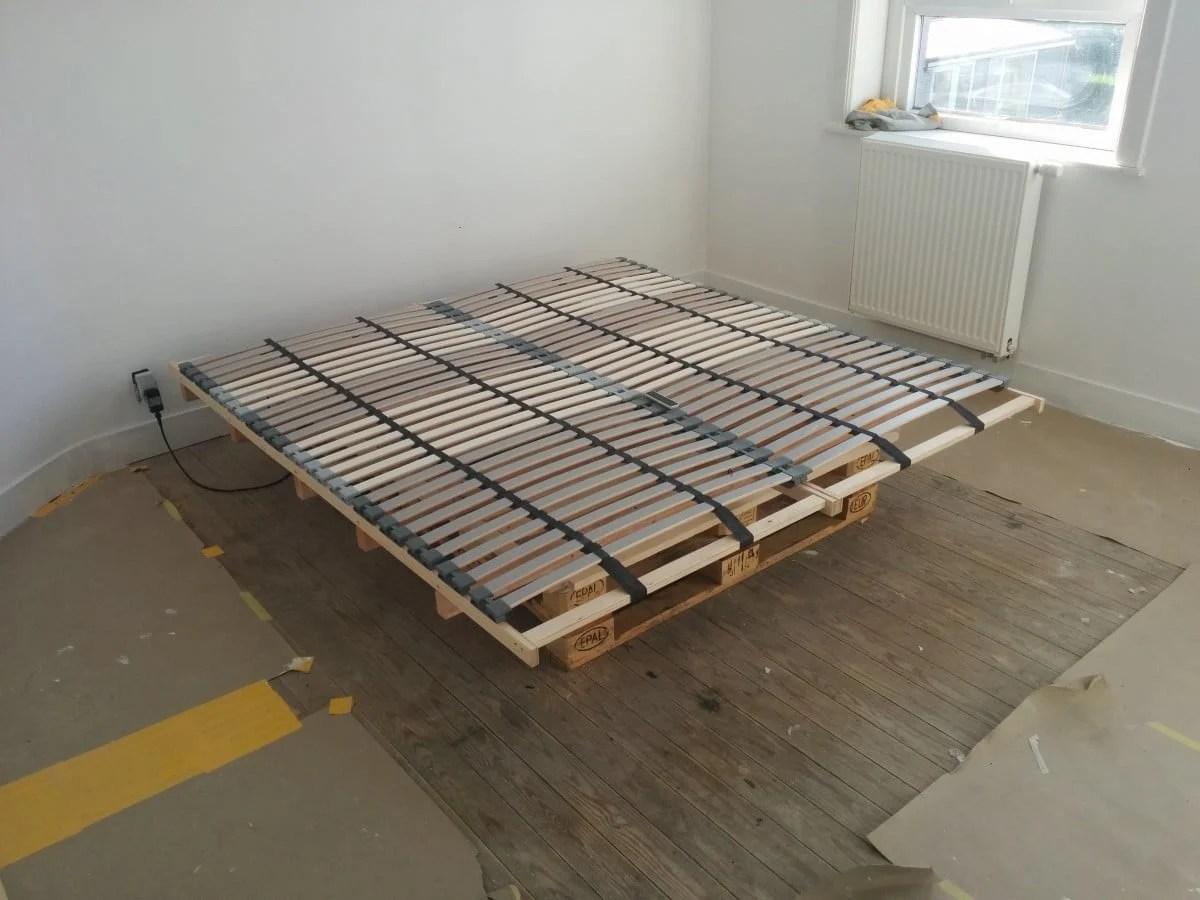 Trend L NSET Pallet Bed