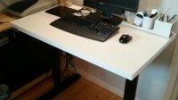 An adjustable width Bekant desk - IKEA Hackers - IKEA Hackers