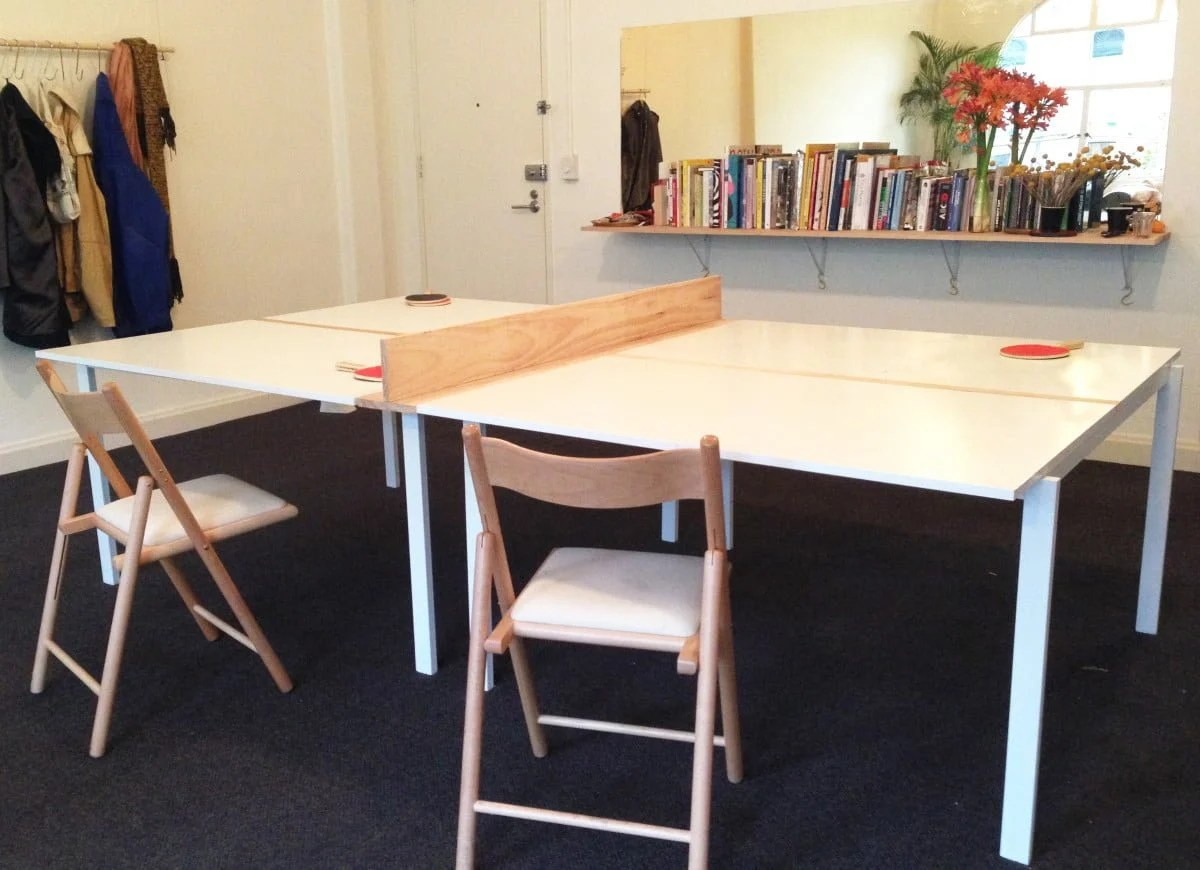 Melb 214 Rd Tennis Table From Ikea Melltorp Tables Ikea Hackers