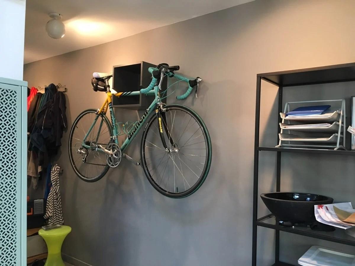 wall mounted chair rack configura accessories the ikea valje bike is in town