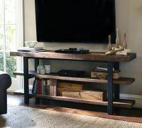 Wood + VITTSJO Industrial Media Console - IKEA Hackers ...