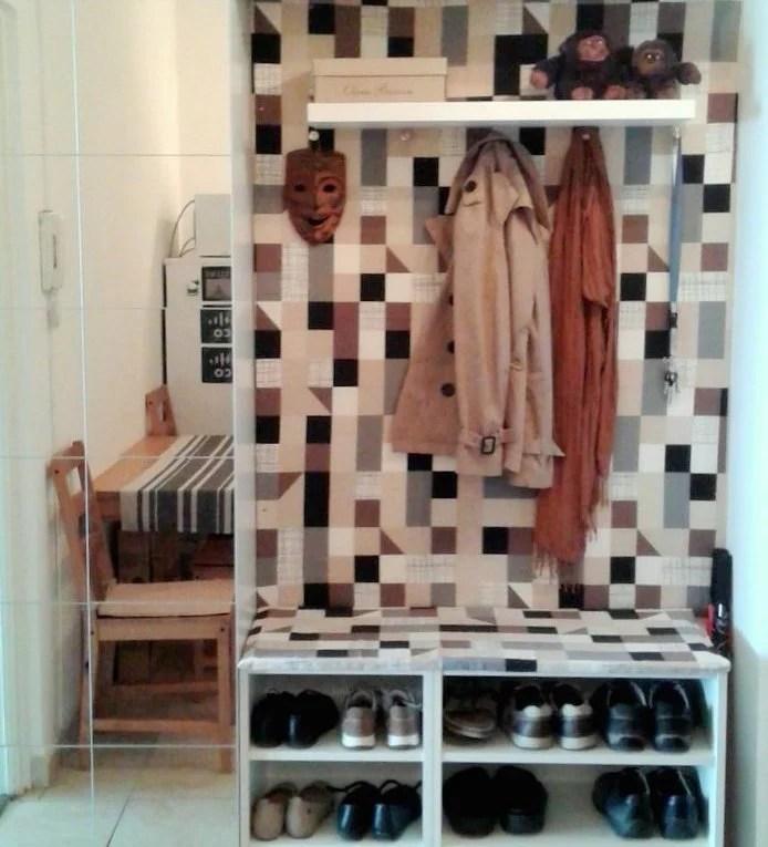 Hallway Storage From Ikea Metod Kitchen Cabinets Ikea