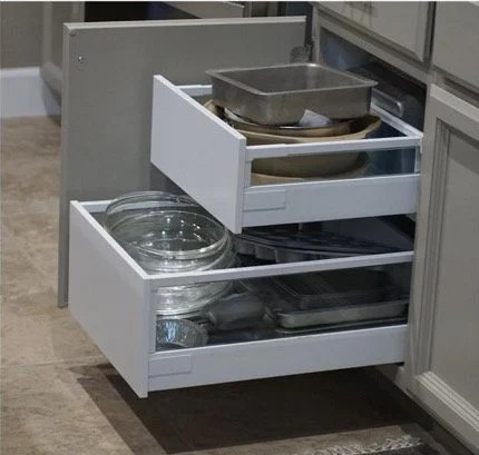 Howto Install Drawer Pullouts in Kitchen Cabinets  IKEA