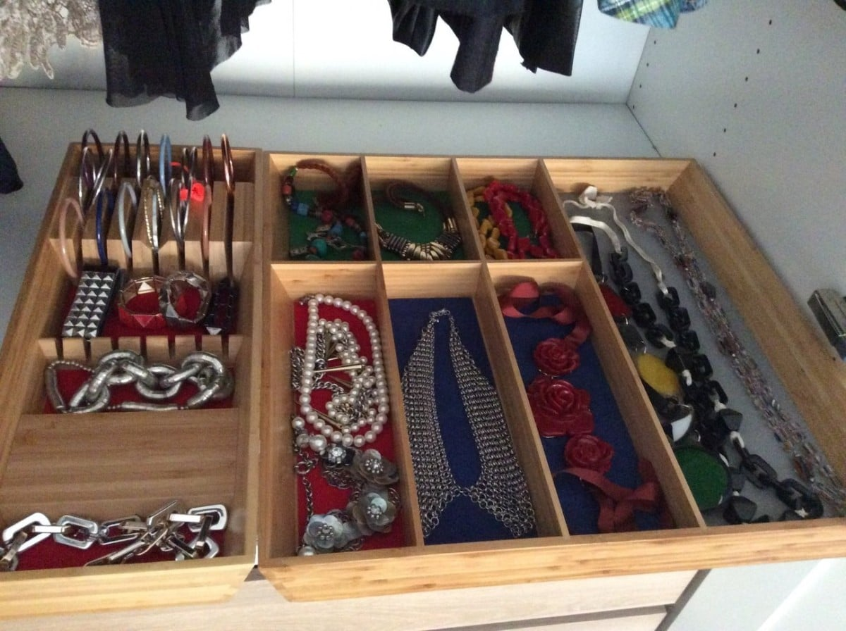 IKEA VARIERA trays for bracelets and necklaces  IKEA Hackers