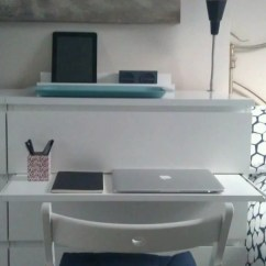 Desk Chair Is Too Low Fishing Bed Reviews Malm Chest Gets A Pull-out Laptop Table