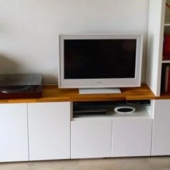 Bottom Kitchen Cabinets Lights Over Table Tv Unit From Ikea Metod - Hackers ...