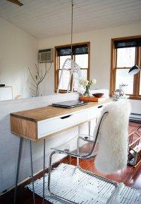 Slim Mid-Century Laptop Desk - IKEA Hackers - IKEA Hackers