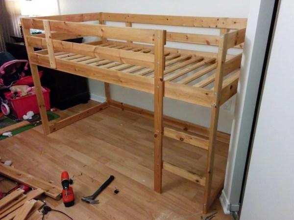 IKEA Hack Loft Bed