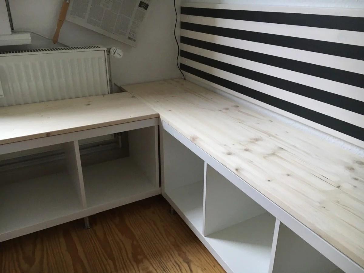 Ikea Kallax Kitchen Corner Seat