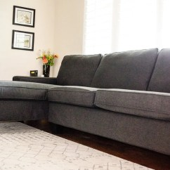 Chaise Sofa Bed Ikea Baxton Studio Set My Kivik Sectional Grows Up - Hackers