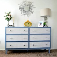 Fabric Paneled dresser  IKEA Tarva Hack - IKEA Hackers ...