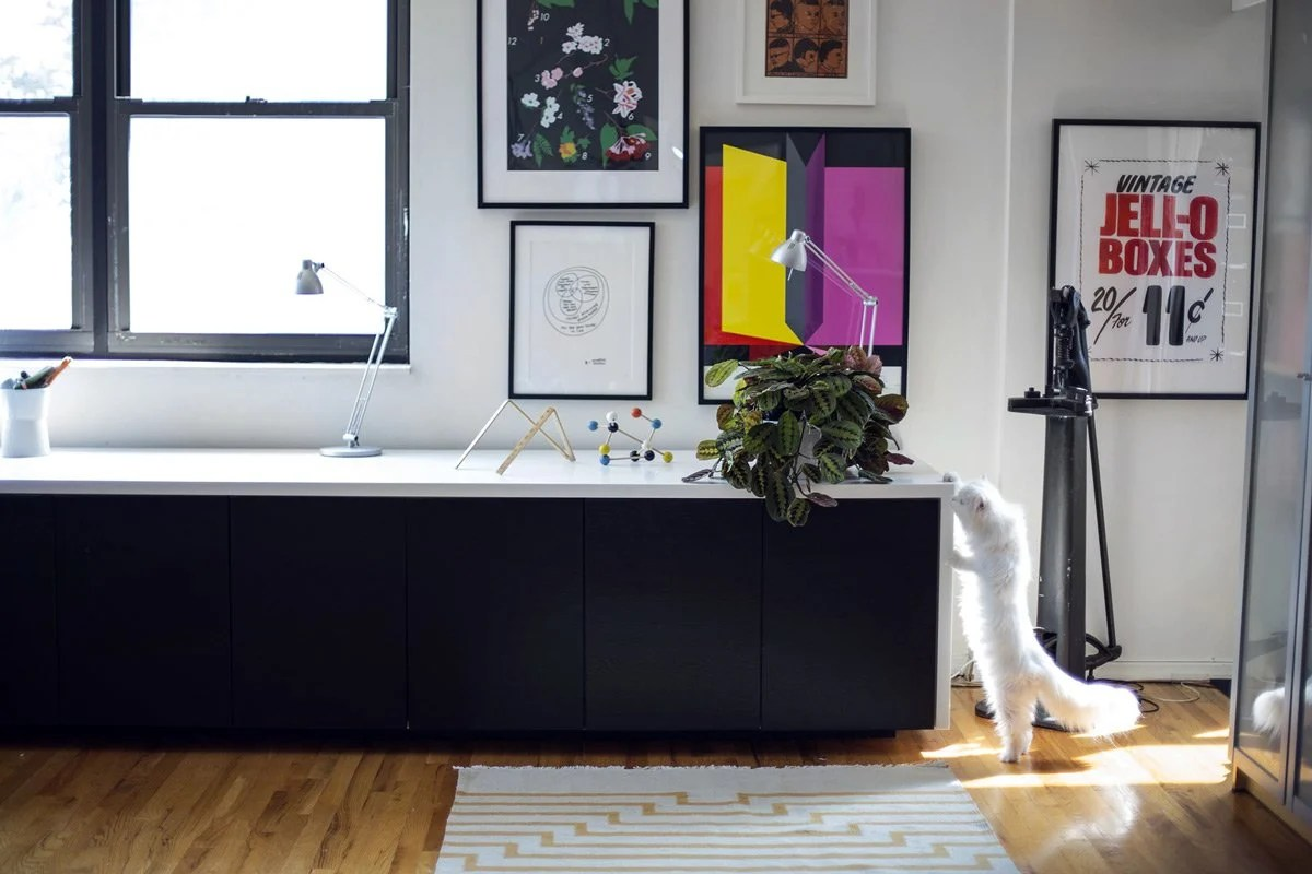 The classiest sit stand desk hack ever  IKEA Hackers