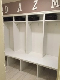 BEST hack - Large Mudroom Lockers with Bench - IKEA ...