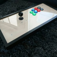 Living Room Without Coffee Table Ideas Decorate Black Leather Sectional Fighting Frame - Picture Arcade Stick Ikea Hackers