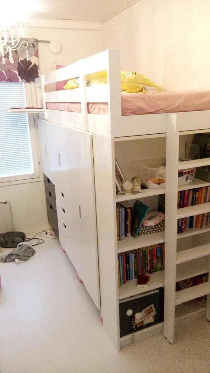 2 Ways To Hack A Kid S Storage Bed Ikea Hackers Ikea