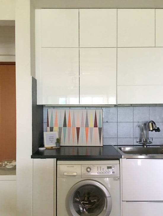 METOD cabinets with RINGHULT high gloss doors