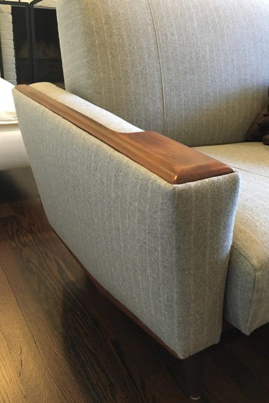 Sofa arm