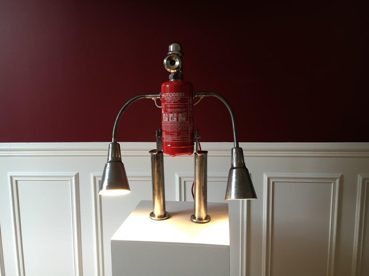 ikea kvarts robot lamp