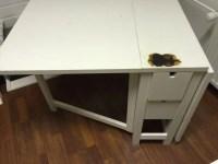 IKEA Norden folding table in Riviera Maison style